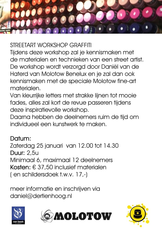 Workshop van Beek Rdam 26012014